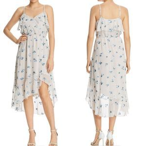 Nanette Lepore Floral Embroidered Midi Dress 14
